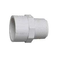 PVC-Male-Adapter