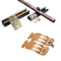 Single-piece-Strut-Clamp-for-ACR-Copper-Pipe
